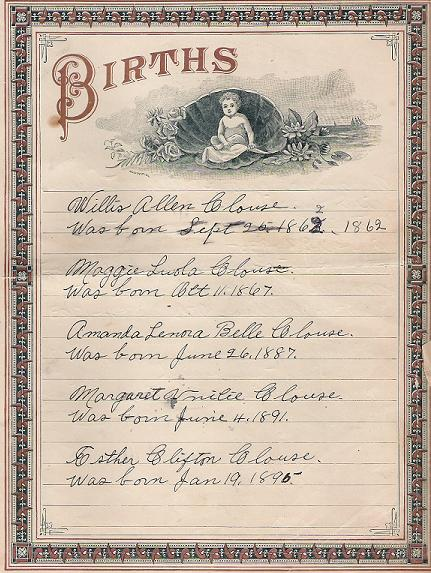 Image:Clouse Family Bible Births Page.jpg