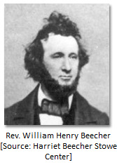 Son: Rev. William Henry Beecher