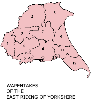 Image:Wapentakes of the East Riding revised.png