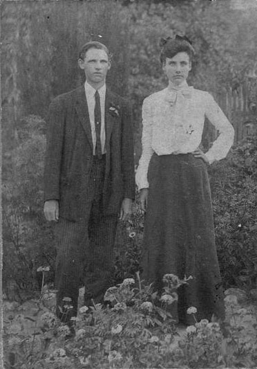 Charles and Beatrice Beard shortly after marriage.