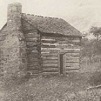 Cabin of Mary Draper and William Ingles on the New River outside Radford Virginia.  The Drapers moved here following Mary's return from captivity.