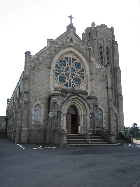St. Patrick's Church. Photo taken Feb 2006 by Brian Shaw