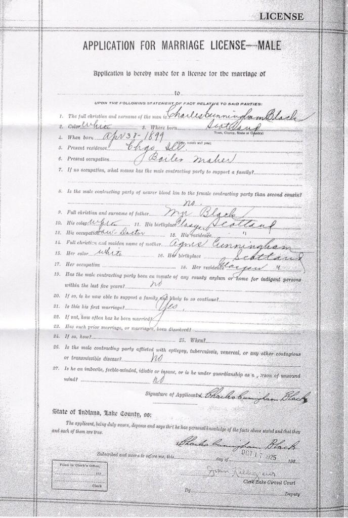 Image:Charles Marriage Application.jpg
