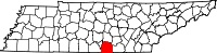Image:Franklin County, TN Locator Map.jpg