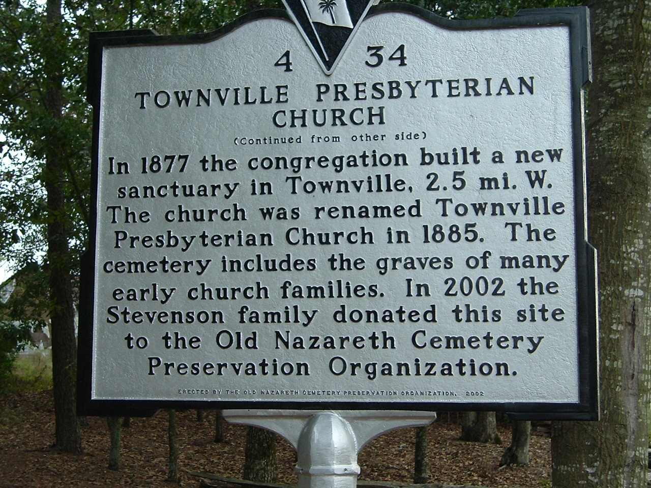 Image:Townville Presbyterian Church sign 2.jpg