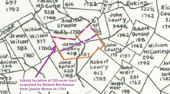 Image:Robert Buchanan from James Henry BordenNE208acres.jpg