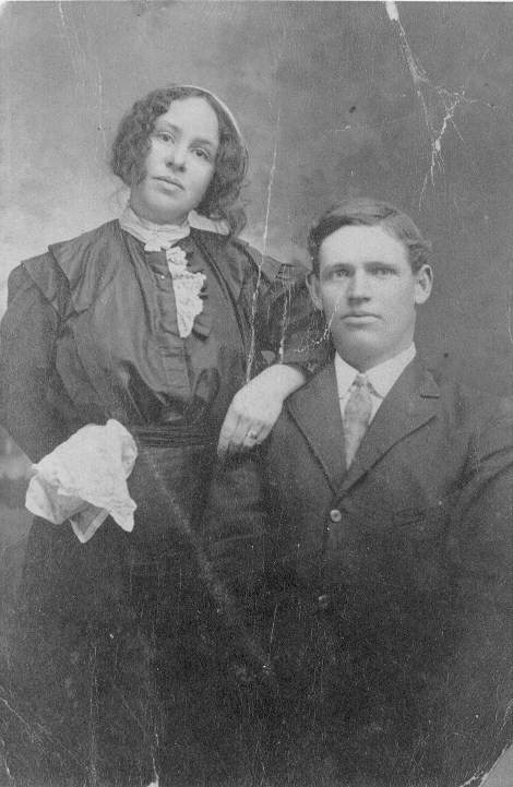 Charles and Myrtle Beard shortly after they married.