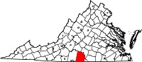 image:Halifax County, Virignia location map.jpg