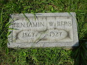 Tombstone of Benjamin W. Berg