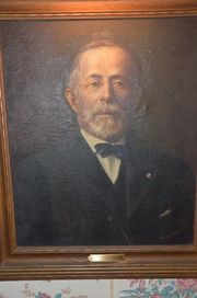 Oil Painting Portrait of Benjamin Charles Taber