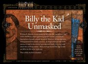 "On-Line video presentation of ""Billy the Kid Unmasked"", a GMAC and Discovery Channel Quest Expedition television production"