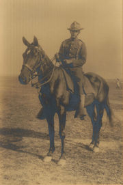 Paul in 102nd Cavalry, NJ Nat'l Guard