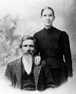 William Henry Brown and Martha Ann Fannin