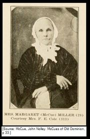 Daughter: Mrs. Margaret (McCue) Miller