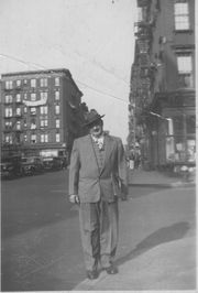 Paul in Manhattan, about 1925