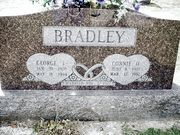 George and Connie Bradley's Tombstone