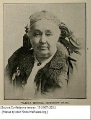 Mrs. Varina (Howell) Davis