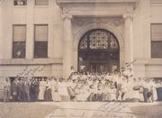 Graduation from Normal Summer School, Boise, about 1910,