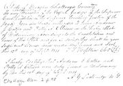 Marriage record of Andrew J. Coker and Polly A. Ellison in Chattooga County, Georgia
