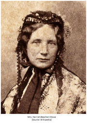 Daughter: Mrs. Harriet (Beecher) Stowe