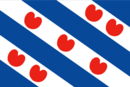 Flag of the province of Friesland