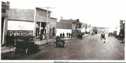 Main Street, Hazelton ND, 1921