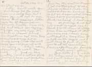Letter from Sophia C J White requesting her share of mother's estate, p1, 3