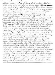Civil War letter 1861 pg2