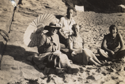 Nora, Ralph, Kathleen, and Virginia in about 1939.