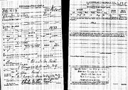 WWI Draft Registration Charles MIller Beal
