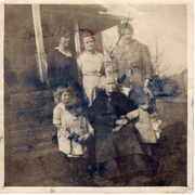 Barker Family about 1924