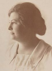 Elizabeth Scott, about 1920