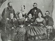 Potter sisters and spouses circa 1869