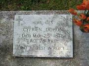 180px-Headstone_Cyprien_Duhon_ ...