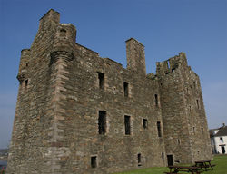 MacLellan's Castle in Scotland. Attribution: Otter