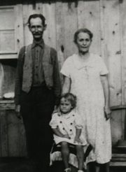 William Johnston, Doris Jane, & Elizabeth Jane Mayfield Bradley