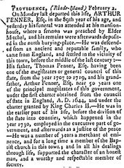 The Pennsylvania Mercury and Universal Advertiser , 4 Mar 1788