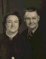 George and Connie Bradley 1956