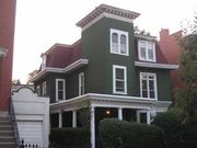 The Taylor family lived at 86 Cambridge Place. This house, photographed around 2005, may be the same house they lived in.