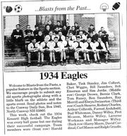 1934 Kennett High School Eagles Football Team