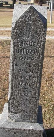 Tombstone of Samuel Baldwin