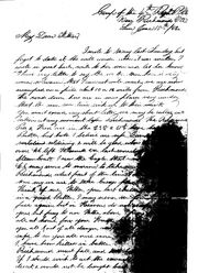 Civil War letter 1862-06-15 pg1