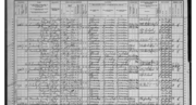 Amalia and son Arthur identified on the 1900 U.S. Census of Illinois