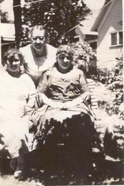 With Aunt Lillian and Sister Francelia