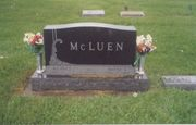 Wayne & Mildred McLuen's Tombstone