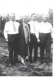 Harvey, Naomi, Charles, and Walter Beal