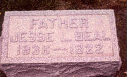 Tombstone of Jesse Lichty Beal