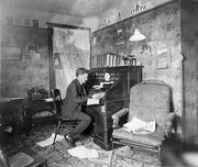 In his Study abt. 1910