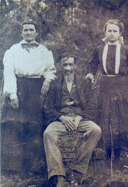 Esther Almeda, Jackson, and Mary Margaret Mayfield