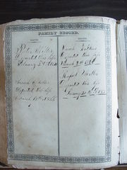 Miller Family Bible - Deaths 1